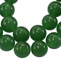 16 Inch Gemstone Aventurine 6mm Round Beads